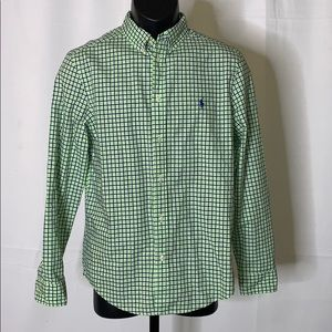 Polo Ralph Lauren kids button up shirt size - XL